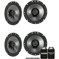 Kicker CSC67 6.75-Inch (165mm) Coaxial Speakers, 4-Ohm Bundle