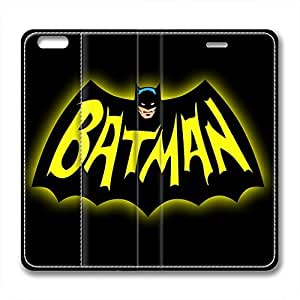 iCustomonline Batman Leather Standup Cover for iPhone 6( 4.7 inch)