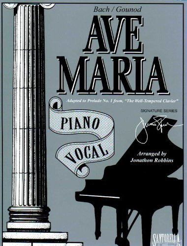 Ave Maria Piano Vocal / Bach - Gounod Edition