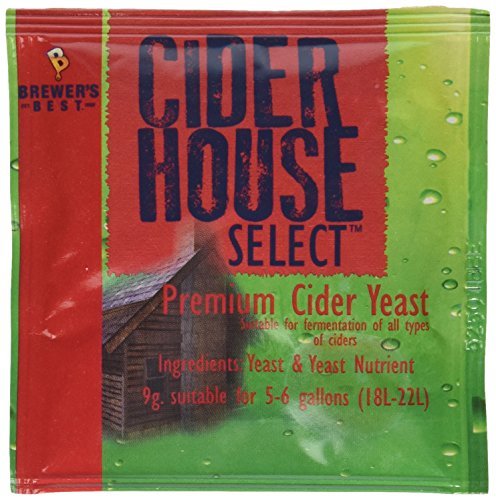 Dry Brewers Yeast (Cider House Select Premium Cider Yeast-3 Count)