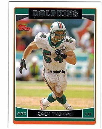 Verzamelkaarten: sport 2008 Score Factory Set Base Blue #86 Zach Thomas Dallas Cowboys Football Card