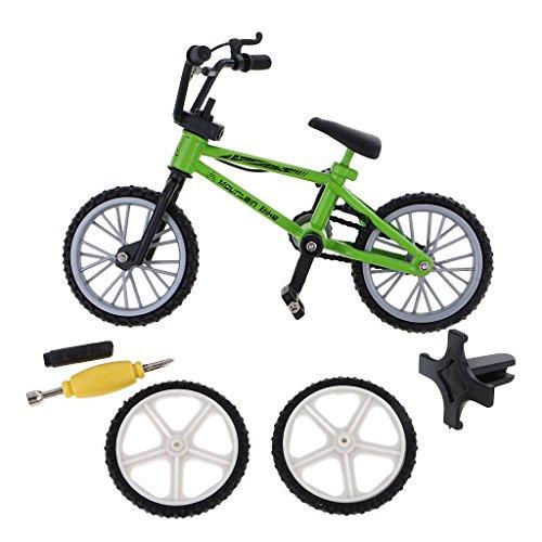 [해외]Jili 온라인 창조적 인 손가락 산악 자전거 자전거 액세서리 멋진 소년 장난감 선물 녹색 / Jili Online Creative Finger Mountain Bike Bicycle with Accessories Cool Boy Toy Gift Green