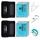 Isavera Arm Fat Freezing System - Arm Fat Freezer and Shaper Wraps for Flabby Arms - Weight Loss Trainer Slimmer Sleeve - Fat Reducing Bands