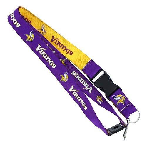aminco NFL Minnesota Vikings Reversible Lanyard ()