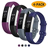 Welltin Bands Compatible with Fitbit Alta/Alta HR for Women and Men(4...
