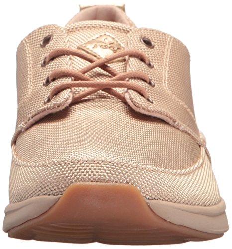 Reef Womens Rover Low Tx Fashion Sneaker Oro Rosa
