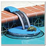 Animal Saving Rescue Escape Ramp for Pool, Frog Log Swimming Pool Animal Rescue Escape Ramp Suitable for Duck Frog Turtle Chipmunk Pet and More (1PC)