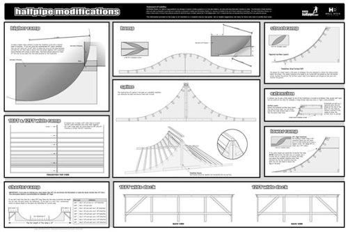 4 39 skateboard inline halfpipe plans manual dvd for Buy blueprints online
