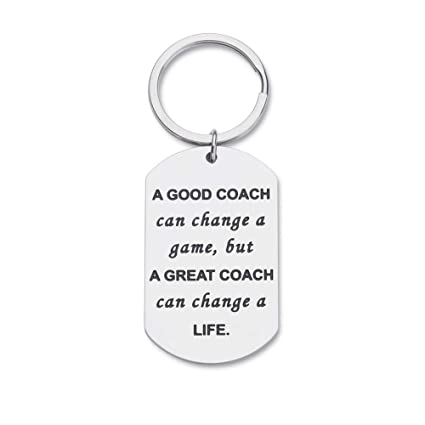 Amazon.com: Llavero de regalo para entrenadores, para ...