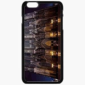 Unique Design Fashion Protective Back Cover For iPhone 6 Plus Case Slim (5.5 inch) Gothic Night Black