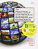 img - for Loose-leaf Version for Practice of Statistics for Business and Economics 4e & LaunchPad for Moore's The Practice of Statistics for Business and Economics 4e (12 month access) book / textbook / text book
