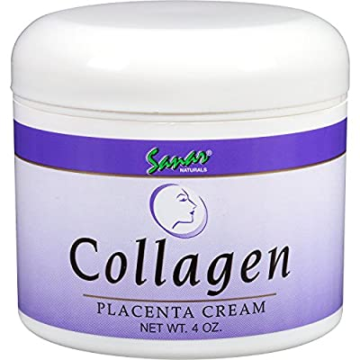 Amazon.com : Sanar Naturals Collagen Placenta Anti-Wrinkle Cream, White, 4 Ounce : Beauty