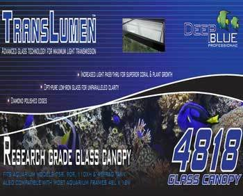 Deep Blue Professional ADB39818 Translumen Glass Canopy, 48 by 18-Inch by Deep Blue Professional