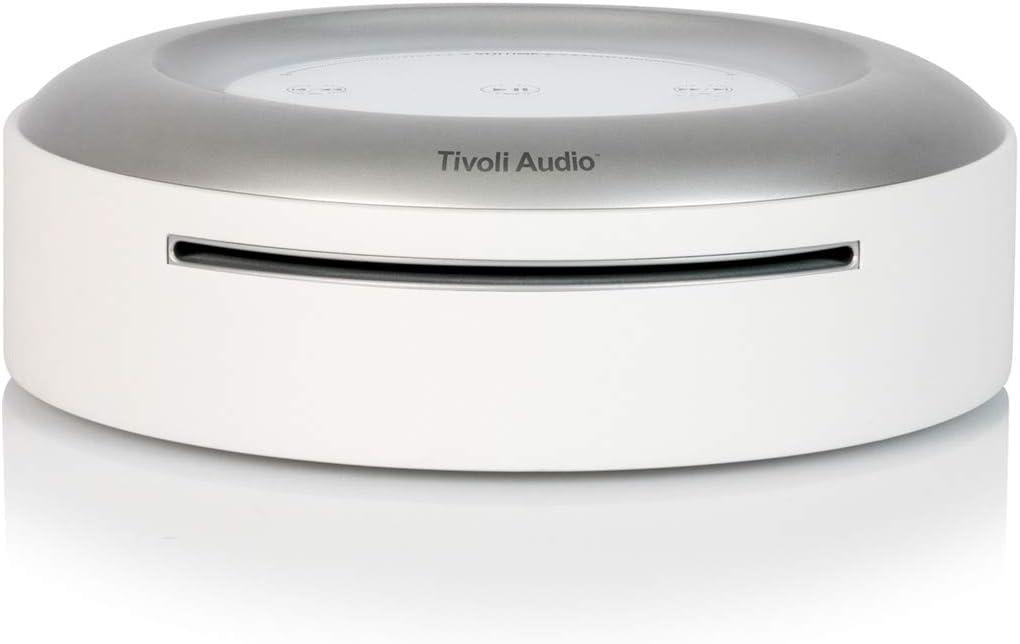 Tivoli Audio Wireless Home Model CD Player White (ARTCD-1786-NA)