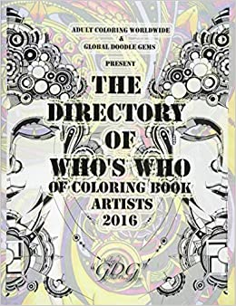 Amazon.com: The Directory Of Who\'s Who of Coloring Book ...