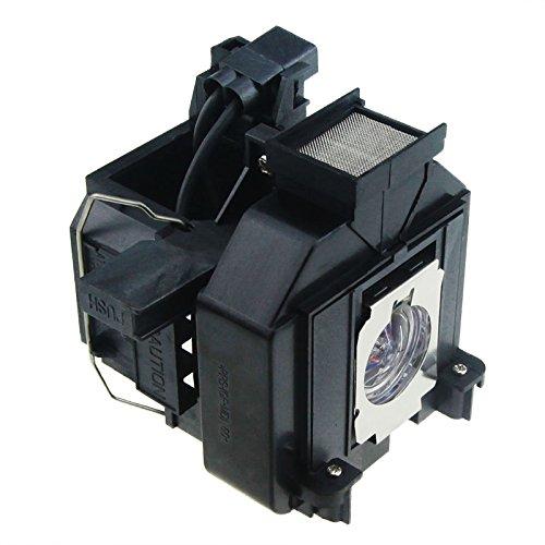 elplp69 / v13h010l69互換プロジェクターランプwith housing for EPSON PowerLite HC 5020ub / PowerLite HC 5020ube / PowerLite ProC 6010 / PowerLite HC 3010 eh-tw8000 eh-tw8100 eh-tw8500 C eh-tw8510 C eh-tw9000   B07FXFSW78