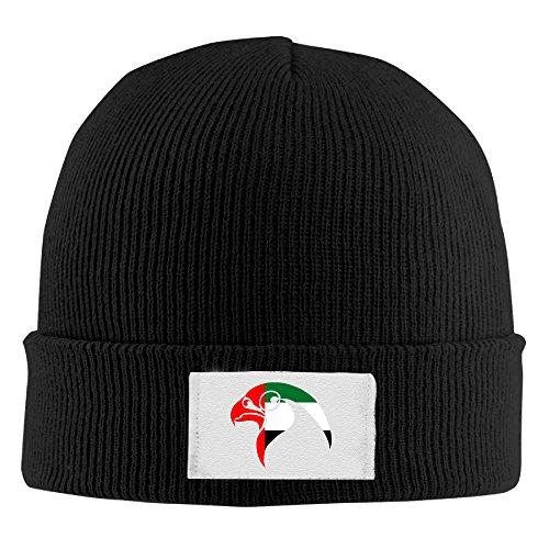 Amone Peregrine Falc Winter Knitting Wool Warm Hat Black ()