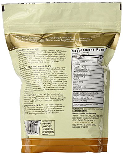Large Product Image of Spectrum Essentials Organic Ground Flaxseed, 24 Ounce