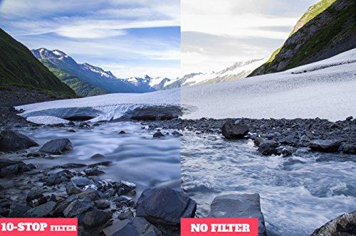 Tyfoto 10-Stop ND Filter for Camera Lenses - Neutral Density