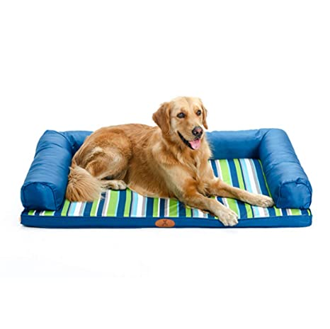 Tela De Oxford Pet Waterloo Lavable Cama para Mascotas Sofá Golden Retriever Perro Grande Cama para