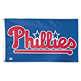 MLB Philadelphia Phillies 01785115 Deluxe Flag, 3' x 5'