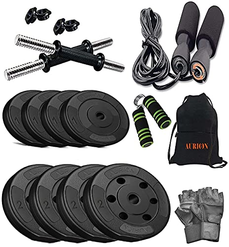 Aurion Home Gym Set and Fitness Kit for Home Exercise,