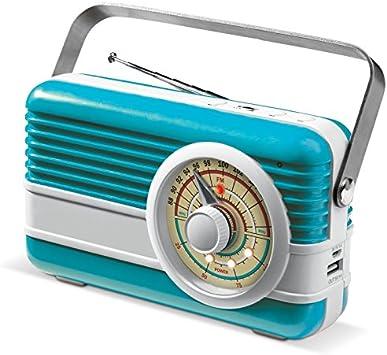 6000 Mah Power Banco con Radio y Smartphone Altavoz en diseño ...