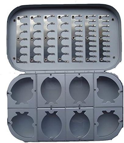 Desconocido Caja de Moscas de Aluminio con 8 Compartimentos, Resistente al Agua: Amazon.es: Hogar