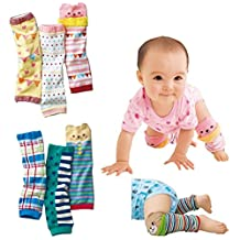 Luckystaryuan ® Prime Deals Set of 6 Cotton Baby Cartoon Leg Warmers