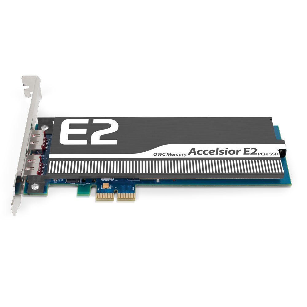 OWC / Other World Computing Mercury Accelsior E2 960GB PCI Express High-Performance SSD, 756 MB/s Read Speed and 673 MB/s Write Speed at Sandy Bridge (PC) by OWC