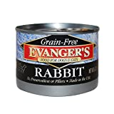 Evangers Grain-Free Rabbit Canned Food (24 Pack)