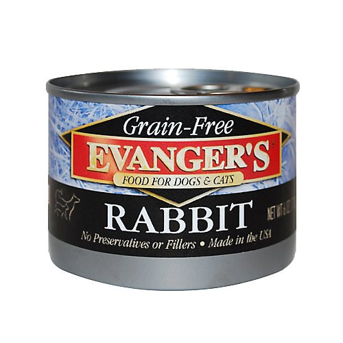 Evangers Grain-Free Rabbit Canned Food (24 Pack)