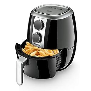 Beasig 1400w Electric Home Kitchen Air Fryer 3.5l Large Capacity Air Fryer Liner Rack Househould Kitchen Power Air Fryer Oven Power Air Fryer Cooker