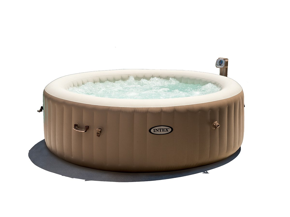 INTEX - SPA Hinchable PureSpa Redondo Burbuja 6 pl + Kit ...