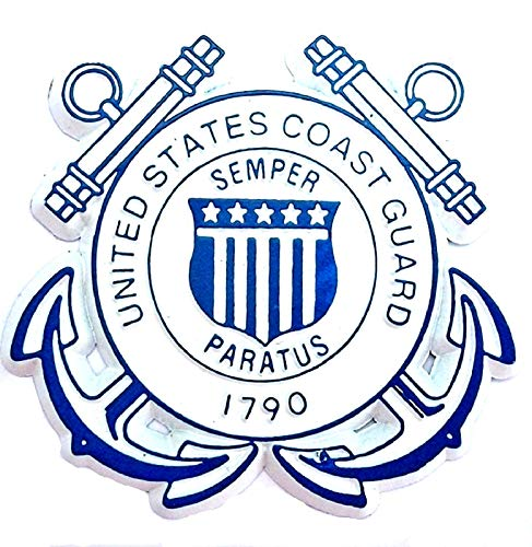 United States Coast Guard Fridge Magnet