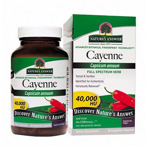 Caps 90 Cayenne - Nature's Answer Cayenne Pepper Fruit 90 cap ( Multi-Pack)