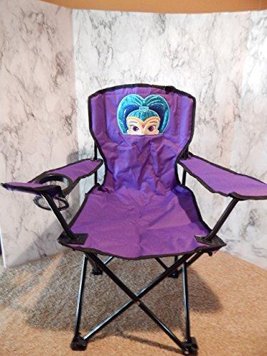 Personalized Blue Genie Folding Chair (CHILD SIZE)