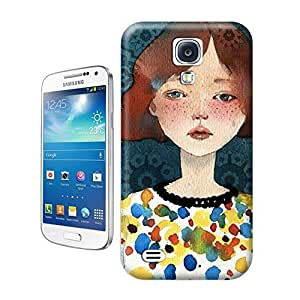 tostore Designed style Customizable Women Art on wood case battery cover for samsung galaxy s4