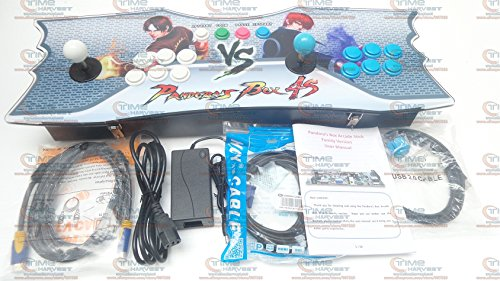 New Arrival Pandora Box 5 Two players Home 960 in 1 Games Family Arcade Game Joystick with authentic original Sanwa joysticks and buttons HDMI VGA output port (White+Blue)