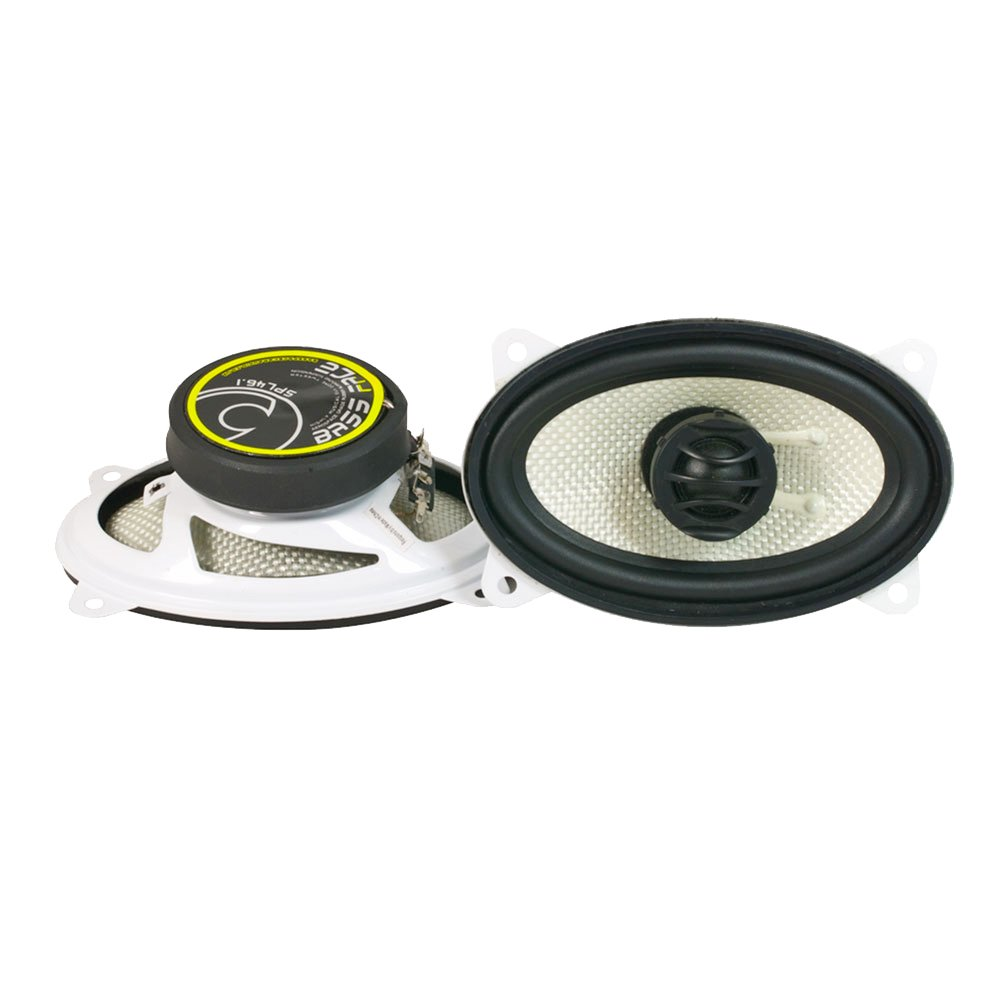 Bass Face SPL46.1 300W 4x6 inch Coaxial Car Speakers Pair