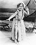 Shirley Temple Captain January B&W 16X20 Canvas Giclee