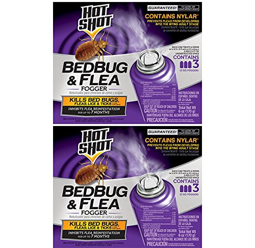 2 Pack Hot Shot Bedbug 3 Count