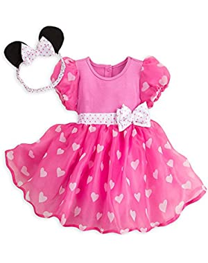Minnie Mouse Costume Bodysuit for Baby - Pink