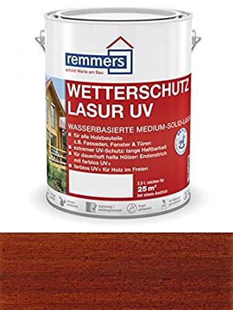 Remmers Wetterschutz-Lasur UV - farblos UV+ 2, 5L UNKWN 4004707105859