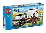 レゴ (LEGO) シティ レゴ (LEGO)の町 ホーストレーラー付きの4WD  7635