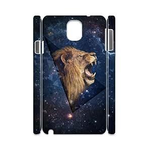 Lion Custom 3D Cover Case for Samsung Galaxy Note 3 N9000,diy phone case ygtg541777