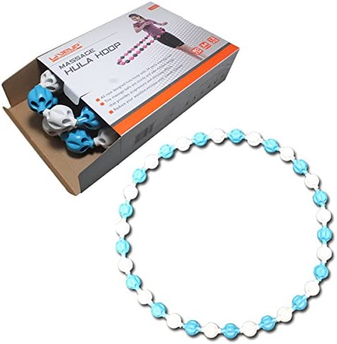 Amazon.co.jp: HULA-HOOP Adult ls5051 80 cm Color: White, Blue, Weight Loss  Fitness Tummy Waist Waist Shape Diet Equipment Exercise, Cardio, ABS :  Sports