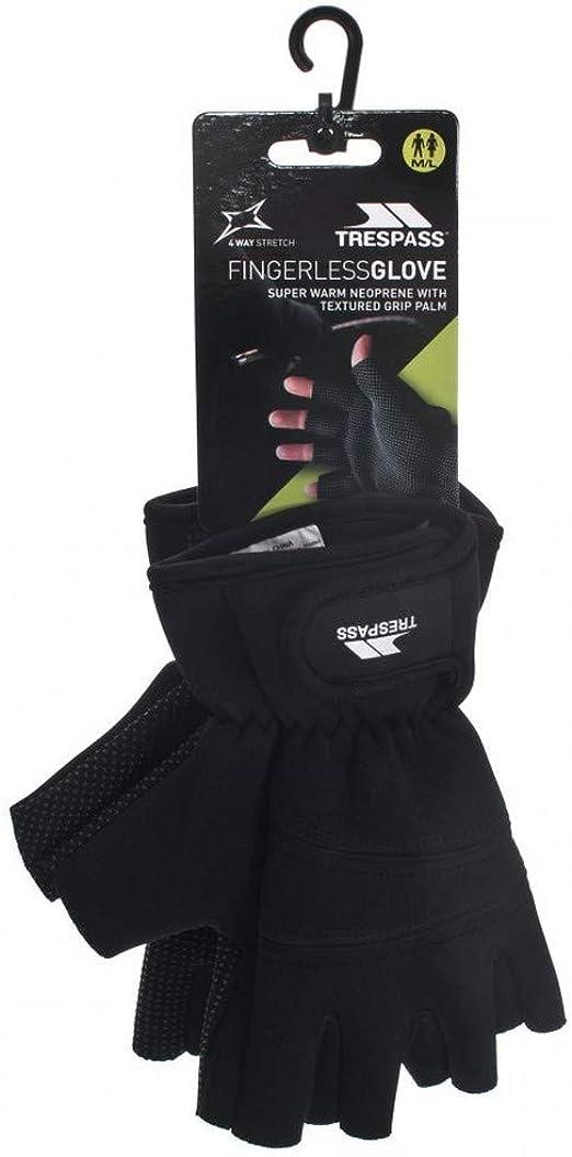 Trespass Carradale wasserdichte Fingerlose Neopren Handschuhe