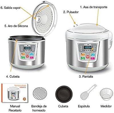 Cookermatic - Robot de cocina, capacidad 5 litros: Amazon.es: Hogar