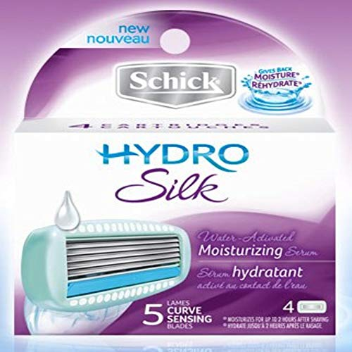 Schick Hydro Silk Cartridges 4 refills